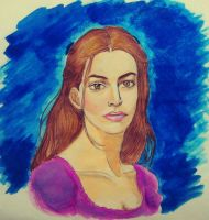 Fantine (Anne Hathaway) My ArtWorK by PrincessQuincel