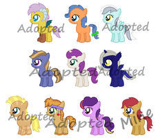 Fan Foals Challenge 31-40 (2 LEFT) by Randina42