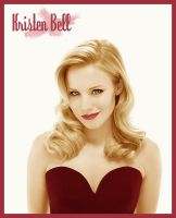 Kristen Bell Colorize by old-paper