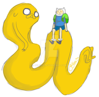 Finn and Jake Time by Celebi9