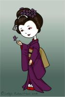 vector Maiko by phoenix-feather