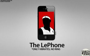 LeBron James LePhone by IshaanMishra