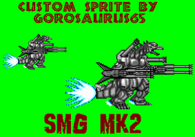 Custom SuperMechaGodzilla Mk2 by Gorosaurus65