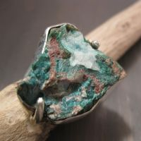 Earthy - Chrysocolla Malachite by Jealousydesign