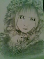 Hizaki Sketch by ShoutAndBite