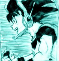 Son Goku by Shauni
