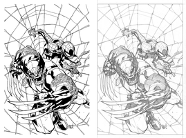 Inks over Joe Mad's pencils, pt.2 by veilski