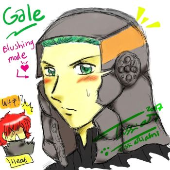 Gale - Blushing Mode by The-SMT-Club