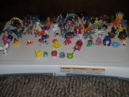 Digimon PVC Figures by Tawnynose