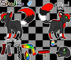 Shadow ref by XShadowstar