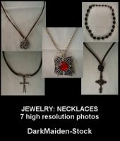 Jewelry: Necklaces by DarkMaiden-Stock