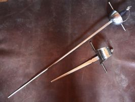 Light Rapier and dagger set by Danelli-Armouries