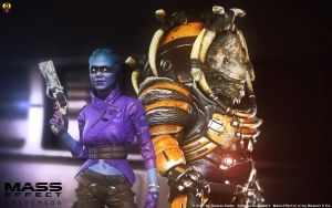 Mass Effect Andromeda Teammates by Euderion
