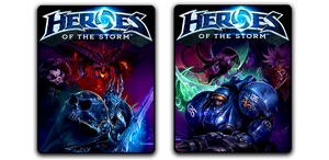 Heroes of the Storm 512x512 Icons by mgbeach