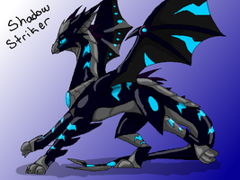 Shadowstriker Dragon mode by Ask-ShadowStriker