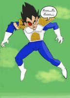 Vegeta's Rage is Broken by Riparian