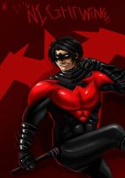 Nightwing New 52 by ErgoAsch