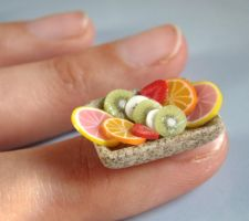 Little Cute Mini Fruit Salad by PetitPlat