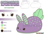 Plush Design Fuwakui Sea Bunny Sour Grape by MoogleGurl