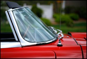 E-Type Jaguar Detail by Caboose6789
