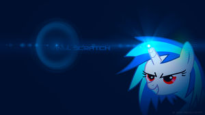 Vinyl Scratch - Illuminate WP by nsaiuvqart