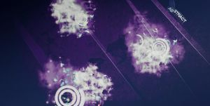 Abstract Designs Wallpaper Sun by duelord