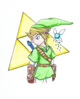 Link and Navi by silvah-princess