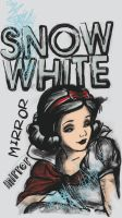Charcoal Snow White by SwissDutchess