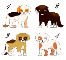 CLOSED Coffie doggies | Charity AUCTION by Felizias