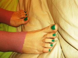 After Gym Feet 6 by Whor4cle
