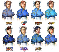 chun-li hairstyle evolution by barakkka