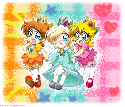 Baby Princesses on the Move by DJ-Mika