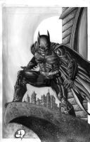DARK KNIGHT Commish by RudyVasquez