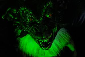 satan green lighting test by torokthetroll