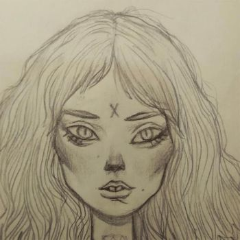 Sketch girl by IgorRAS