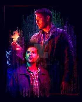 Ghost In The Machine Supernatural by Ryleh-Mason
