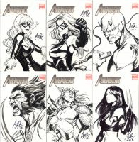 Original covers for Indonesia PopCon 2013 by Artgerm