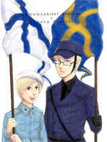 hetalia - flags by lackofsleep