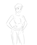 Casual Lineart by SatinMinions