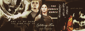 Catching Fire Facebook Cover by onedirectionelif
