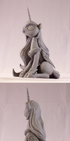 Celestia - Final Sculpt. by frozenpyro71
