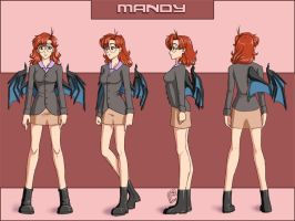 Anime Turnaround: Mandy by Pinkuh