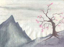 asain mountains by Underbase