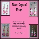 Rose Crystal Drops by bryseis