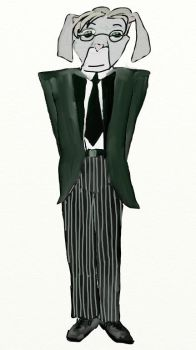 Hamsworth The Butler by marcony