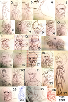 C-D : Sketches N' Stuff 4 by Zap-Zap-Forever