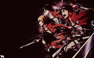 Shingeki no Kyojin Wallpaper 3 by DeathB00K