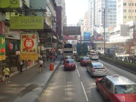 The streets of Hong Kong by Ocrienna
