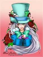 Mad Hatter- colored by naruto0987