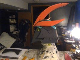 shredder mask wip by mongrelman